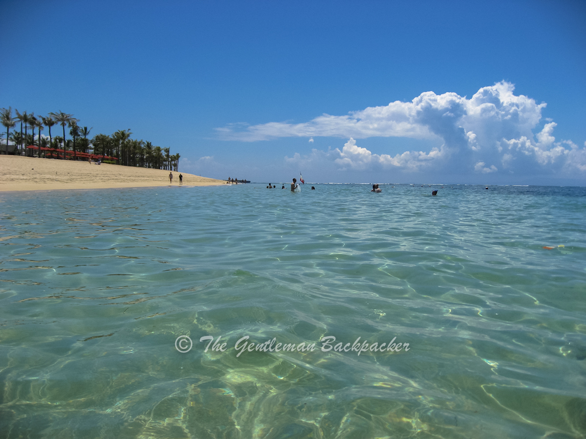 Find calmer waters in Nusa Dua