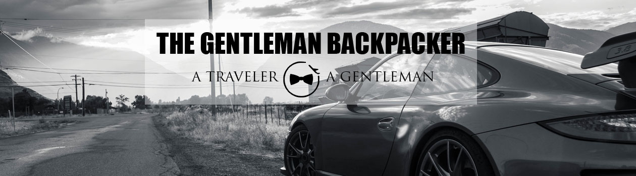The Gentleman Backpacker