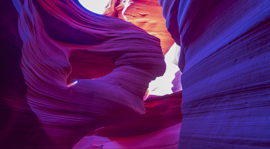 Lady in the Wind, Antelope Canyon