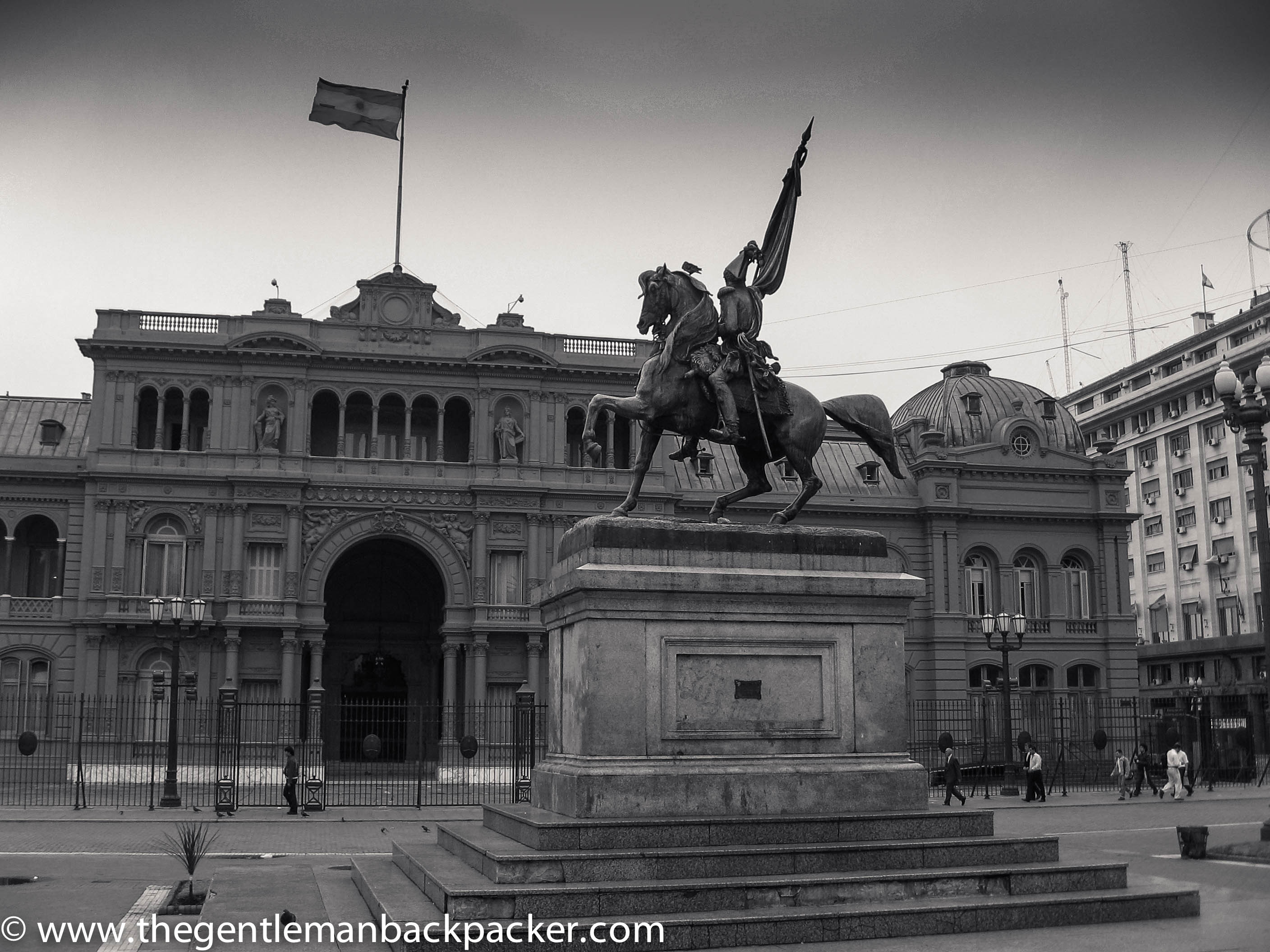 Follow Evita's past at the Casa Rosada