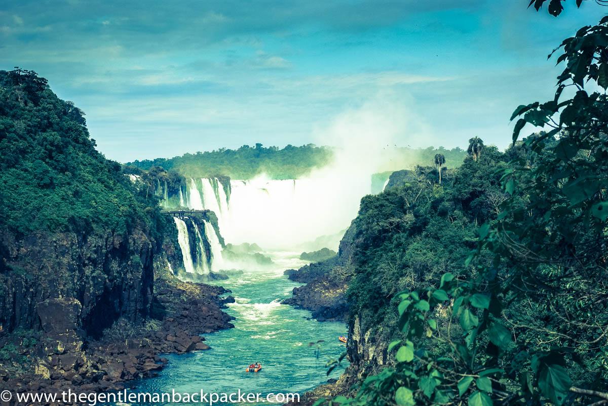Dramatic, magnificent Iguazu