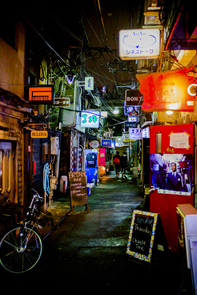 Golden Gai by George Nobechi